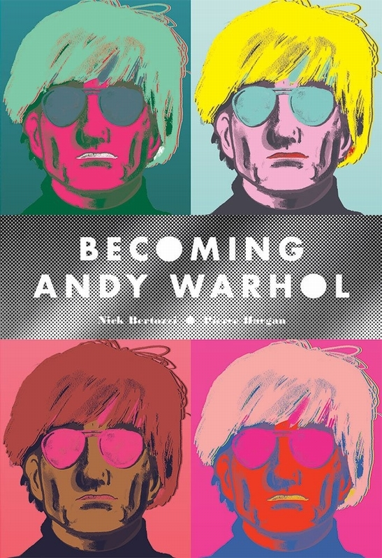 Becoming Andy Warhol Graphic Novel, Nick Bertozzi, Paperback