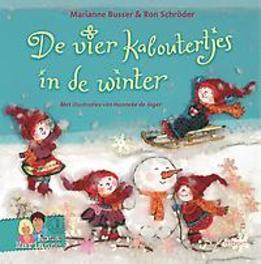 De vier kaboutertjes in de winter Schröder, Ron, Hardcover