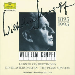 PIANO SONATAS *BOX* W/WILHELM KEMPFF Audio CD, L. VAN BEETHOVEN, CD