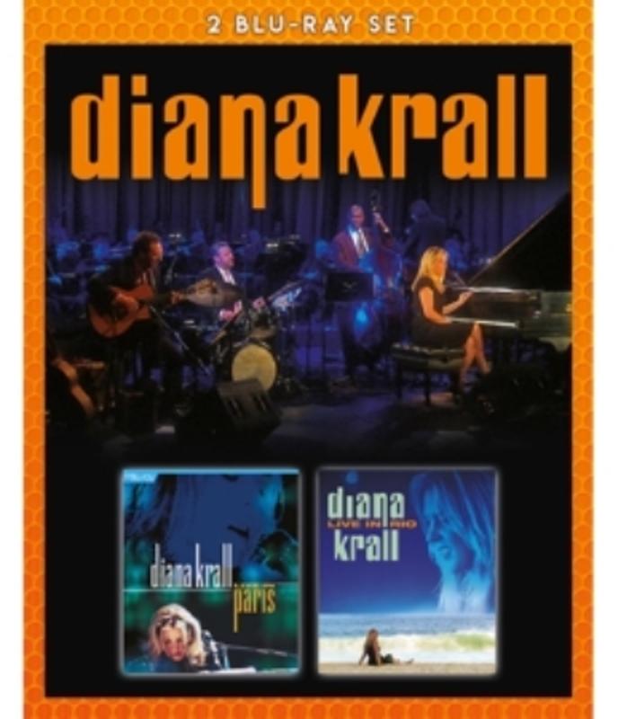 Diana Krall - Live In Paris & Live In Rio, (Blu-Ray) Diana Krall, Blu-Ray