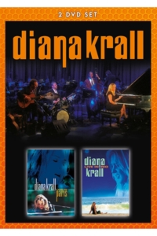 Diana Krall - Live In Paris & Live In Rio, (DVD) Diana Krall, DVDNL