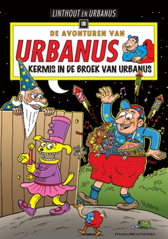 Kermis in de broek van Urbanus Urbanus, Paperback