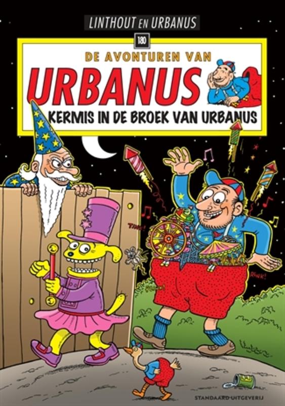 URBANUS 180. KERMIS IN DE BROEK VAN URBANUS URBANUS, Willy Linthout, Paperback