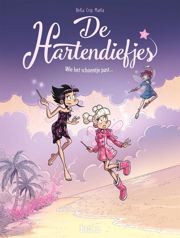 HARTENDIEFJES 02. WIE HET SCHOENTJE PAST HARTENDIEFJES, Béka, Paperback