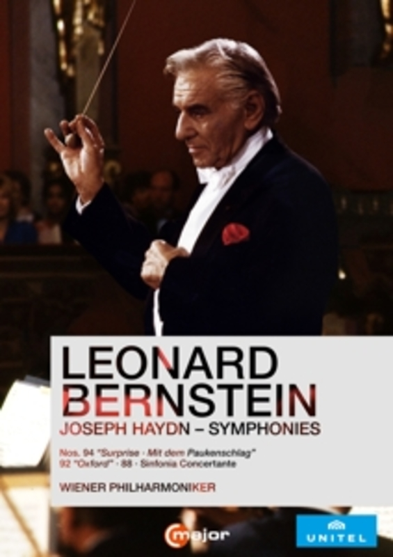 Wiener Philharmoniker - Haydn Symphonies 1984- 1985, (DVD) DVDNL