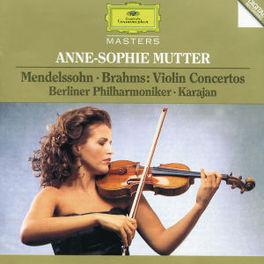 VIOLIN CONCERTS -MUTTER/BERLINER PHILHARMONIC/HERBERT VON KARAJAN Audio CD, MENDELSSOHN/BRAHMS, CD
