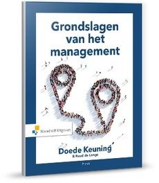 Grondslagen van het management. GRONDSLAGEN, VAN HET, onb.uitv.