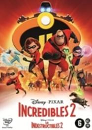 Incredibles 2, (DVD) BILINGUAL /CAST: SAMUEL L. JACKSON, BOB ODENKIRK DVDNL
