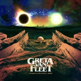 ANTHEM OF THE PEACEFUL.. .. ARMY/ 16P. BOOKLET Greta van Fleet, CD