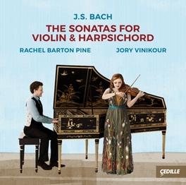 SONATAS FOR VIOLIN & HARP J.S. BACH, CD