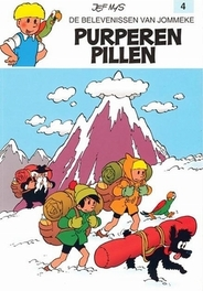 JOMMEKE 004. PURPEREN PILLEN JOMMEKE, Nys, Jef, Paperback