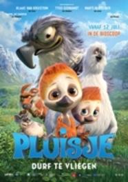 Pluisje durf te vliegen, (DVD) CAST: Erlingsson, Friðrik, DVDNL