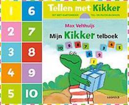 Tellen met Kikker Set met kartonboek + tel- en puzzelblokken, Max Velthuijs, Hardcover