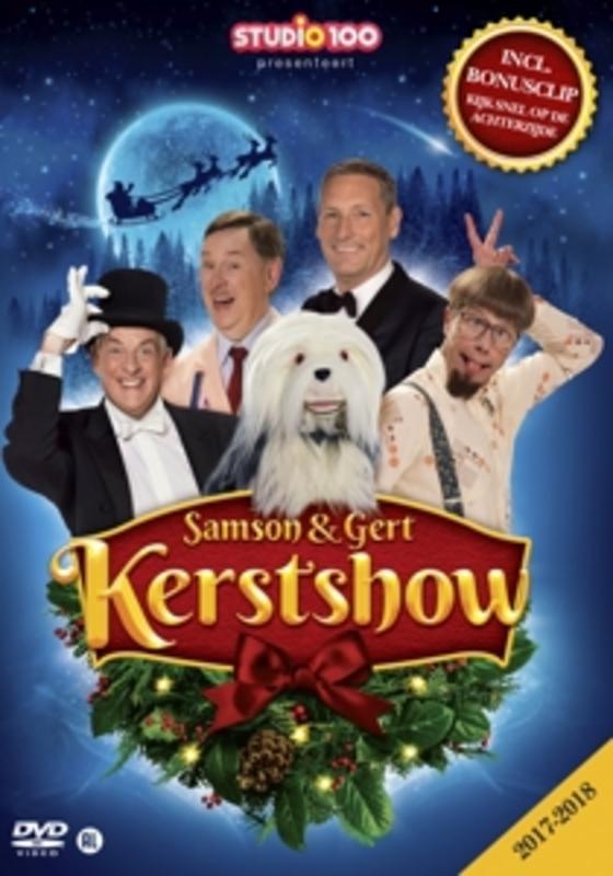 Samson & Gert - Kerstshow 2017-2018, (DVD) DVDNL