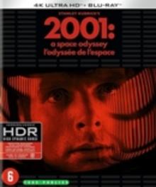 2001 - A space odyssey, (Blu-Ray 4K Ultra HD) BILINGUAL /BY: STANLEY KUBRICK /CAST: KEIR DULLEA Blu-Ray