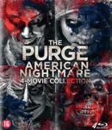 Purge 1-4, (Blu-Ray) Blu-Ray