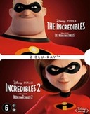 Incredibles 1+2, (Blu-Ray)