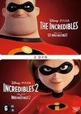 Incredibles 1&2, (DVD)