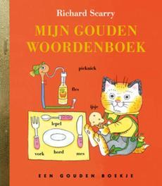 Mijn Goudenwoordenboek GOUDEN BOEKJES SERIE een ABC van Richard Scarry, Gouden Boekje, KINDERBOEKEN, Hardcover