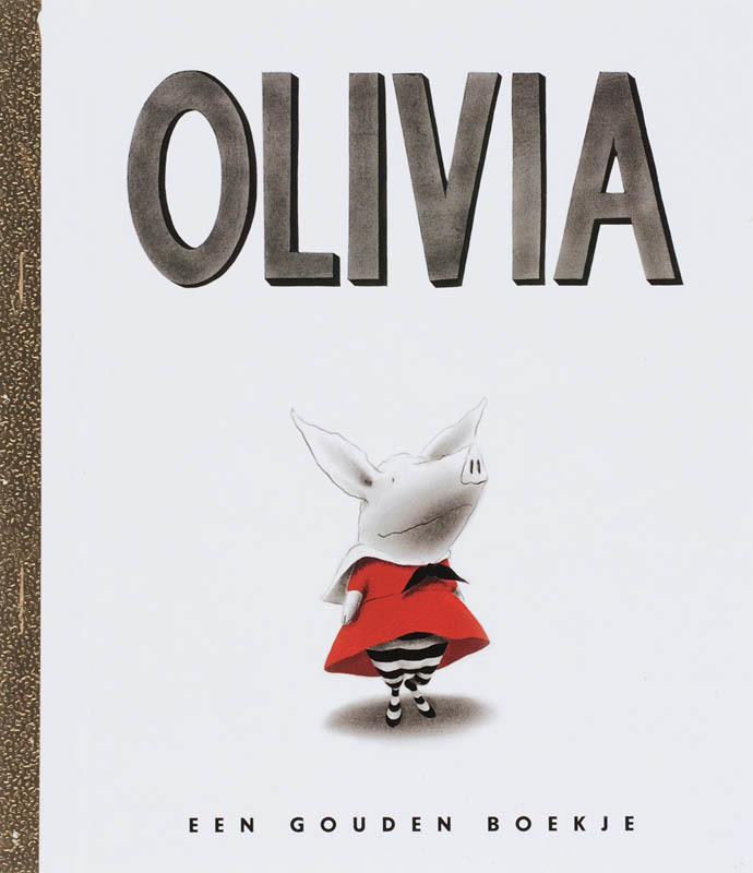 Olivia GOUDEN BOEKJES SERIE gouden boekjes, Falconer, Ian, Hardcover