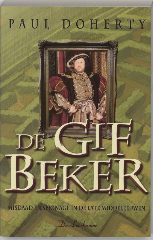 DAGBOEKEN ROGER SHALLOT 02. GIFBEKER misdaad en spionage in de late middeleeuwen, DOHERTY P, Paperback