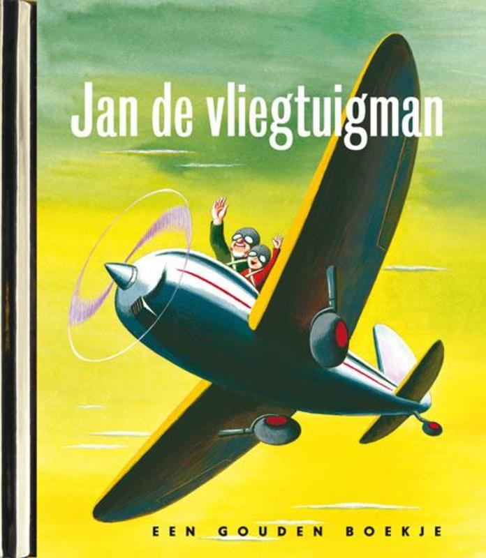 Jan de vliegtuigman, original LUXE GOUDEN BOEKJES SERIE - ORIGINAL, 44 PAGINA'S Gouden Boekjes, Helen Palmer, Book, misc