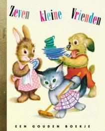 Zeven kleine vrienden GOUDEN BOEKJES SERIE Gouden Boekjes, Jane Werner, Hardcover