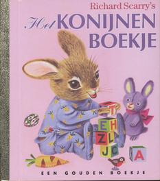 Het konijnenboekje GOUDEN BOEKJES SERIE gouden boekje, Scarry, Patricia M., Book, misc