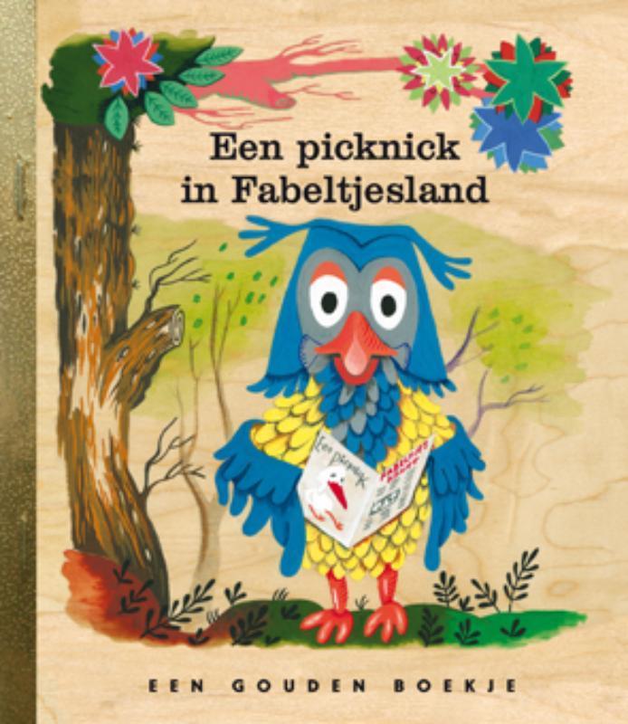 Picknick in Fabeltjesland GOUDEN BOEKJES SERIE Gouden Boekjes, Valkenier, Leen, Hardcover