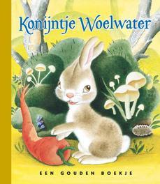 Konijntje Woelwater LUXE GOUDEN BOEKJES SERIE - ORIGINAL, 44 PAGINA'S luxe editie, Ariane, Hardcover