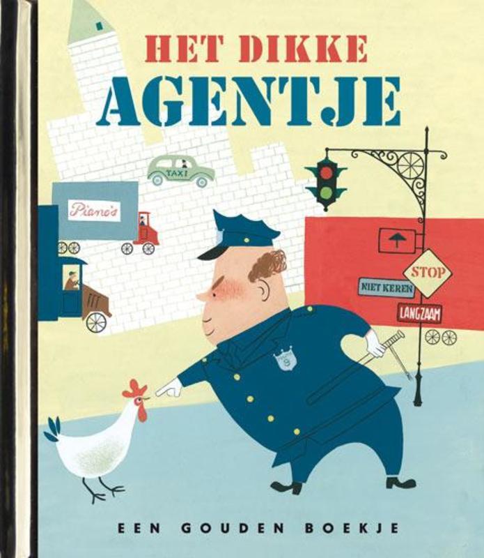 Het dikke agentje LUXE GOUDEN BOEKJES SERIE - ORIGINAL, 44 PAGINA'S luxe editie, Brown, Margaret Wise, Hardcover