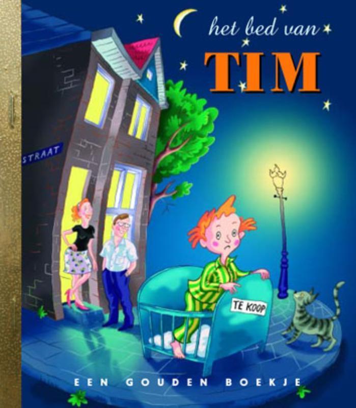 Het bed van Tim GOUDEN BOEKJES SERIE Gouden Boekjes, Van der Sande, Marije, Hardcover
