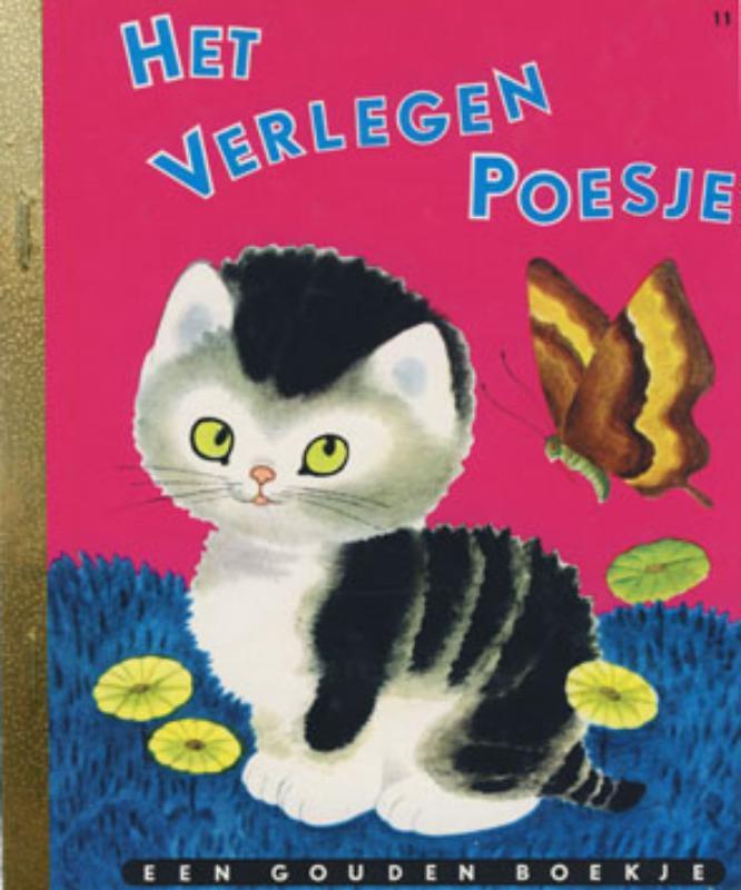 Het verlegen poesje GOUDEN BOEKJES SERIE gouden Boekjes, C. Schurr, Hardcover