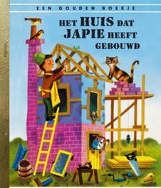 het huis dat Japie heeft gebouwd .. GEBOUWD/ GOUDEN BOEKJES SERIE Gouden Boekjes, Annie M.G. Schmidt, Book, misc