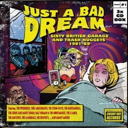 JUST A BAD.. -BOX SET- .. BRITISH GARAGE AND TRASH NUGGETS 1981-89 V/A, CD