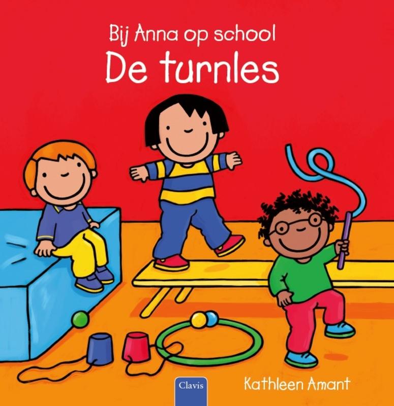 Bij Anna op school De turnles, Kathleen Amant, Hardcover