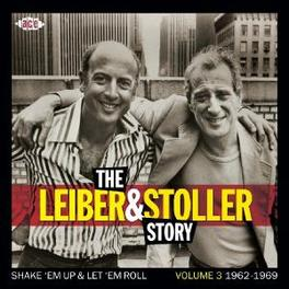 LEIBER & STOLLER STORY 3 W/SOLOMON BURKE/BETTY HARRIS/PEGGY LEE/TOMMY ROE/A.O. Audio CD, V/A, CD