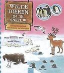 Wilde dieren in de sneeuw