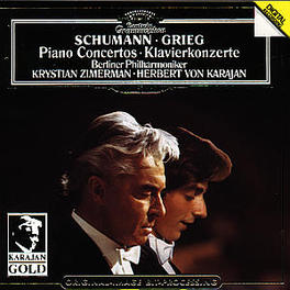 PIANO CONCERTOS ZIMERMAN/BP/KARAJAN Audio CD, SCHUMANN & GRIEG, CD