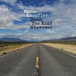 DOWN THE ROAD WHEREVER INC. 16P. BOOKLET Mark Knopfler, CD