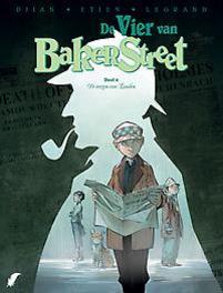 De vier van Baker Street - D4 Elfen, Legrand, Olivier, Hardcover