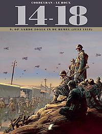 14-18 - D09 Op aarde zoals in de hemel (juli 1918) Kinderen van de wind, Corbeyran, Eric, Hardcover
