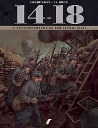 14-18 HC04. EEN LOOPGRAAF TE VER 4/10 14-18, Corbeyran, Eric, Hardcover