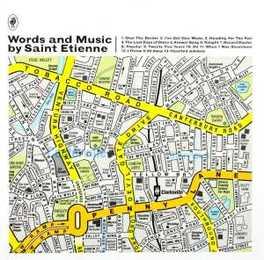 WORDS & MUSIC BY SAINT ETIENNE, CD