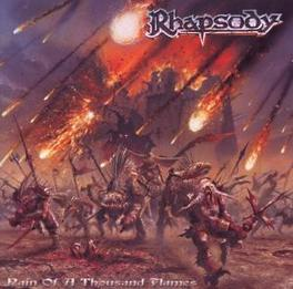RAIN OF A THOUSAND FLAMES Audio CD, RHAPSODY, CD