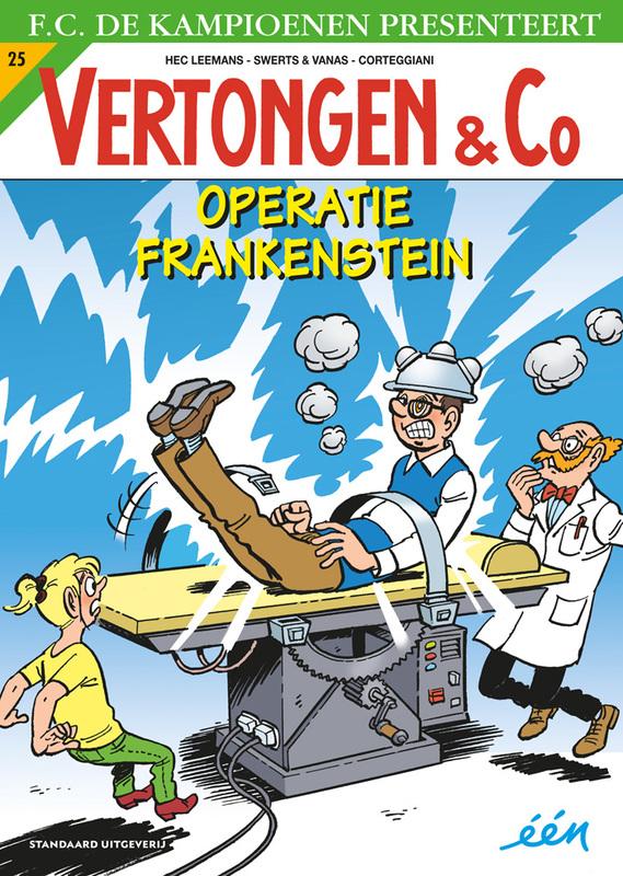Operatie Frankenstein VERTONGEN EN CO, Leemans, Hec, Paperback