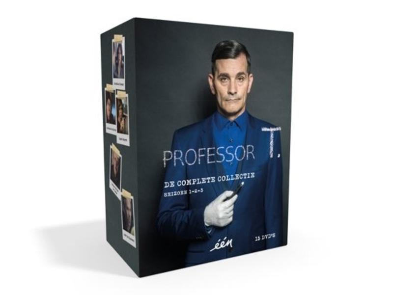 Professor T. verzamelbox (alle 3 seizoenen), (DVD) CAST: KOEN DE BOUW, ELLA LEYERS DVD