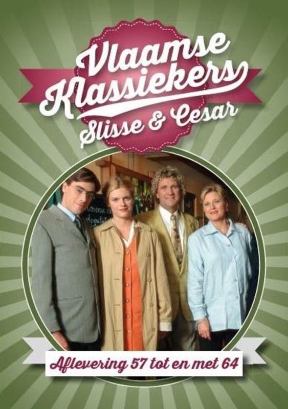 Slisse & Cesar ? afl. 57-64 (Vlaamse Klassiekers), (DVD) DVD