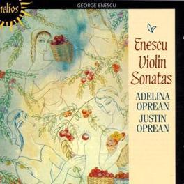VIOLIN SONATAS W/ADELINA & JUSTIN OPREAN Audio CD, G. ENESCU, CD