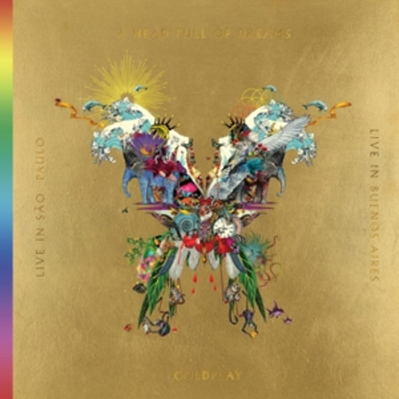 LIVE IN BUENOS.. -CD+DVD- .. AIRES/LIVE IN SAO PAULO/A HEAD FULL OF DREAMS COLDPLAY, DVDNL